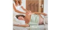 Massagem na gestação é igual mamães sem dores!