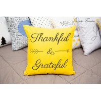 Almofada Thankful & Grateful