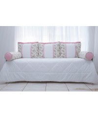 Kit Cama Beatriz (rosa)
