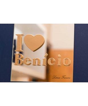 Quadro I Love Benicio